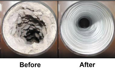 After Dryer Vent Cleaning NJ IMAGE